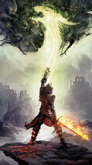 Dragon Age Inquisition Game Art iPhone 8 wallpaper