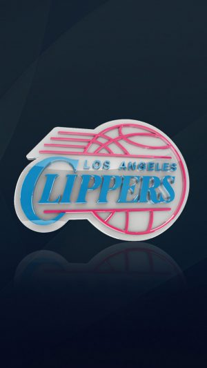 Los Angeles Clippers iPhone 8 wallpaper