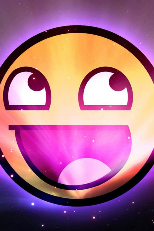 Funny emoticon space purple iphone 8 wallpaper iphone8wallpapers download wallpaper for iphone altavistaventures Image collections