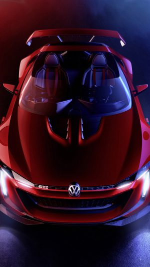 Pretty Volkswagen GTI Roadster iPhone 8 wallpaper