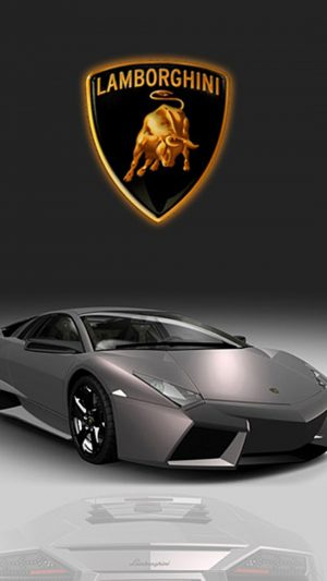 Pretty Gray Lamborghini iPhone 8 wallpaper