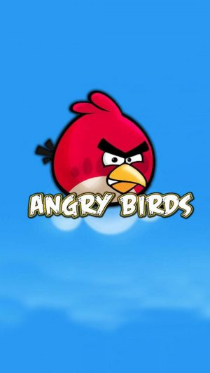 Angry Birds Intro iPhone 8 wallpaper