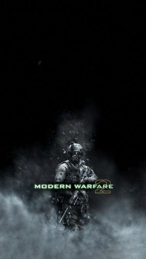 Call of Duty MW2 iPhone 8 wallpaper