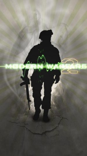 Modern Warfare 2 Soldier iPhone 8 wallpaper