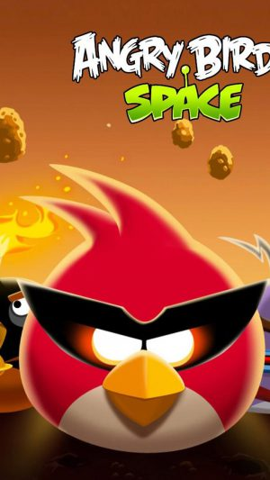Angry Birds Space iPhone 8 wallpaper
