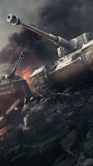 World of Tanks iPhone 8 wallpaper