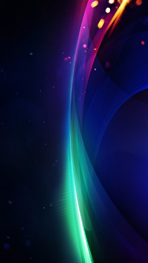 Colorful 369 iPhone 8 wallpaper