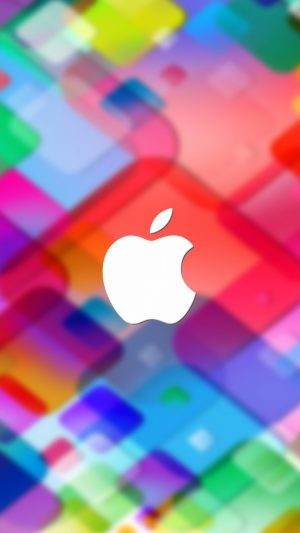 Colorful Apple iPhone 8 wallpaper