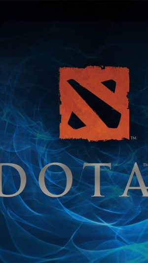 Dota 2 Logo iPhone 8 wallpaper