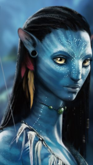 Avatar Actress iPhone 8 wallpaper