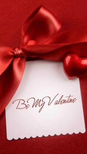Be My Valentine iPhone 8 wallpaper