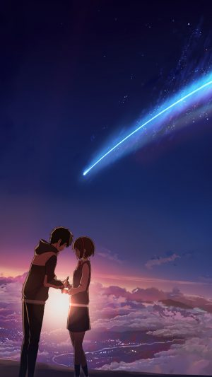 Kimi No Na Wa Your Name iPhone 8 wallpaper