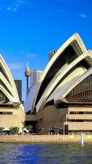 Sydney Opera House iPhone 8 wallpaper