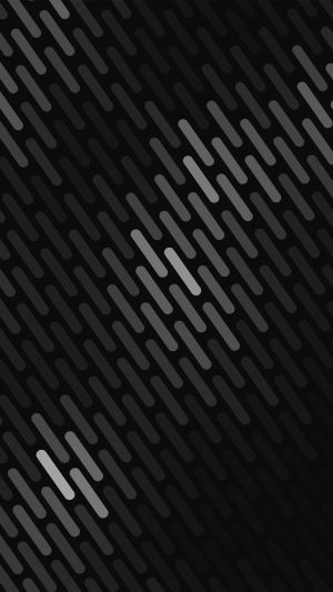 Abstract Dark Bw Dots Lines Pattern iPhone 8 wallpaper