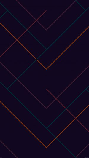 Abstract Dark Geometric Line Pattern iPhone 8 wallpaper