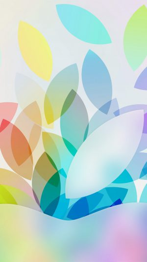 Apple Color Logo Illustration Art iPhone 8 wallpaper