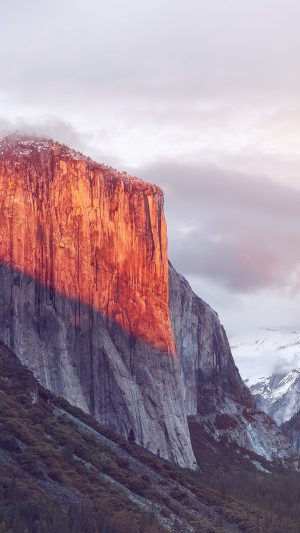 Apple El Capitan OSX Mac Mountain Wwdc Nature Flare iPhone 8 wallpaper
