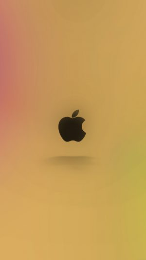 Apple Logo Love Mania Rainbow iPhone 8 wallpaper