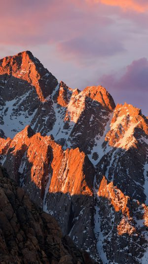 Apple MacOS Sierra Mountain WWDC Official iPhone 8 wallpaper