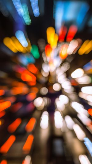 Bokeh Light Fast Speed Pattern Rainbow iPhone 8 wallpaper