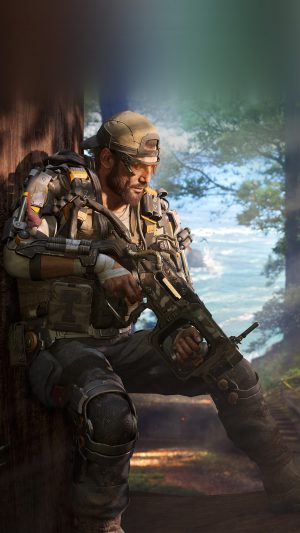 Call Of Duty Blackops Game Illustration Art iPhone 8 wallpaper