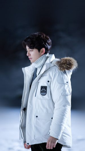 Gongyoo Winter Doggaebi Kpop iPhone 8 wallpaper