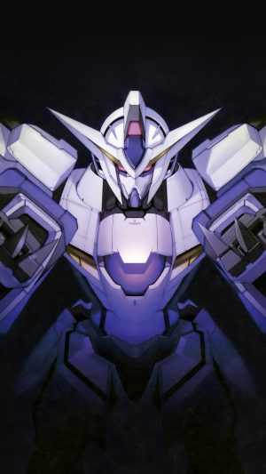 Gundam Art Dark Toy Game Illust Art iPhone 8 wallpaper
