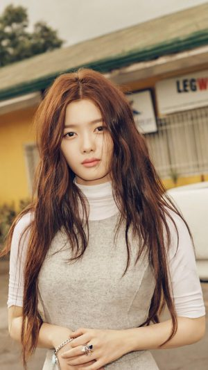 Kim Yoo Jung Kpop Girl Cute iPhone 8 wallpaper