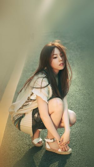 Kpop Sohee Street Girl Celebrity iPhone 8 wallpaper
