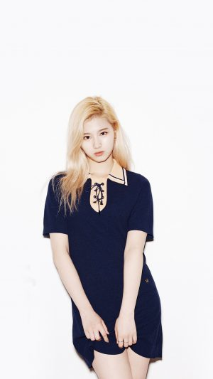 Kpop Twice Sana Girl Cute White iPhone 8 wallpaper