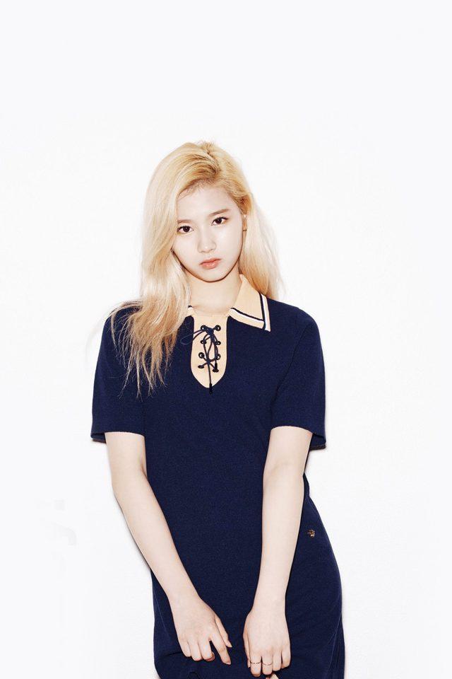 Kpop Twice Sana Girl Cute White Iphone 8 Wallpaper Iphone8wallpapers Com