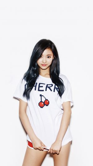 Kpop Tzuyu Oh Boy Cute Asian Twice iPhone 8 wallpaper