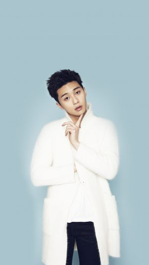 Park Seo Joon Kpop Blue Handsome Cool Guy iPhone 8 wallpaper