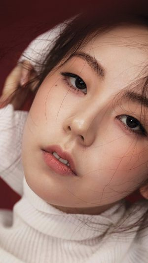 Sohee Kpop Girl Celebrity Face iPhone 8 wallpaper