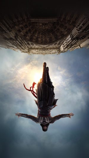 Assasins Creed Film Poster Illustration Art iPhone 8 wallpaper