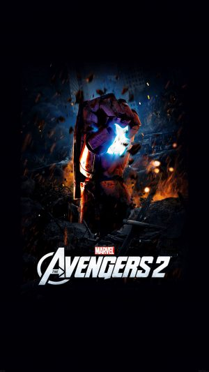 Avengers 2 Poster Hollywood Film Poster iPhone 8 wallpaper