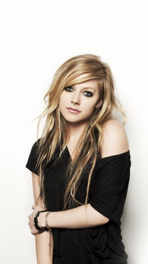 Avril Lavigne Music Star Beauty iPhone 8 wallpaper