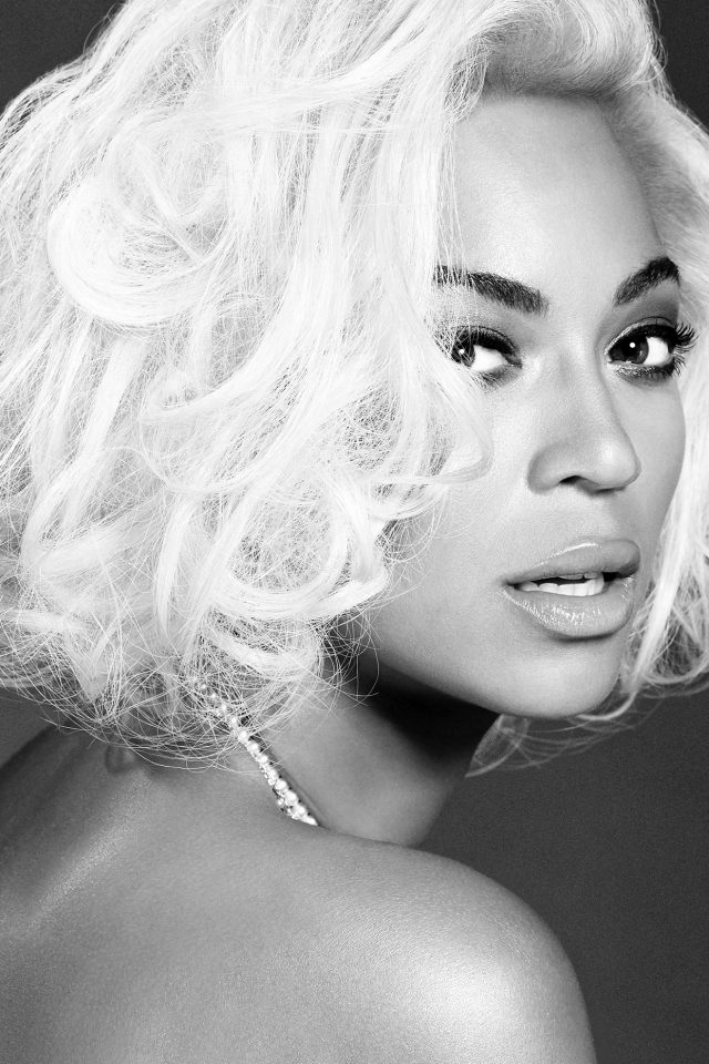 Beyonce Knowles Music Dark Bw Singer iPhone wallpaper
