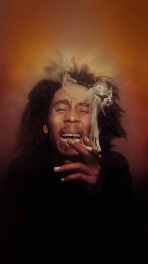 Bob Marley Song Smoke Music iPhone 8 wallpaper