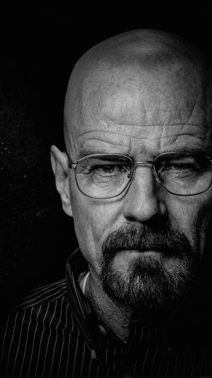 Breaking Bad Face Film Art Dark iPhone 8 wallpaper