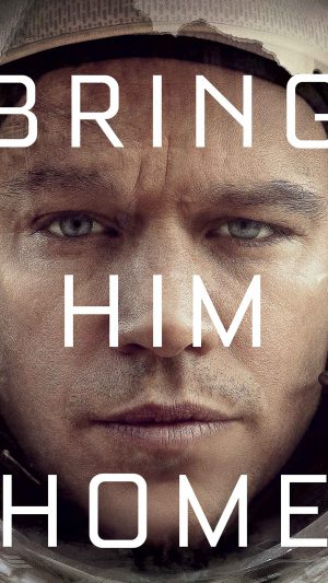 Bring Him Home Martian Film Matt Damon iPhone 8 wallpaper