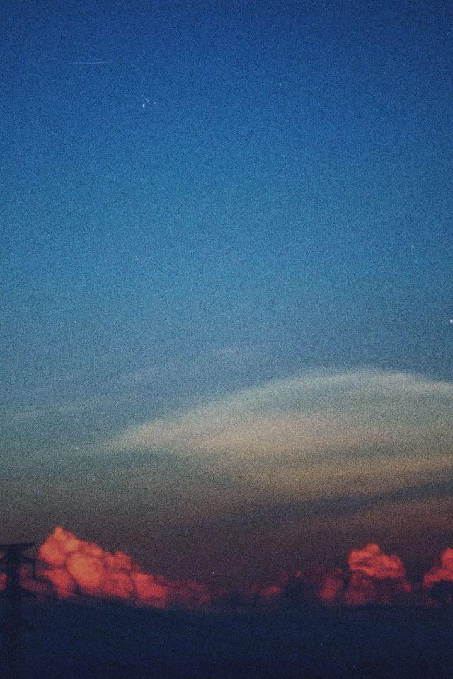 Cloud Blue Clear Vintage Sky Nature Iphone 8 Wallpaper