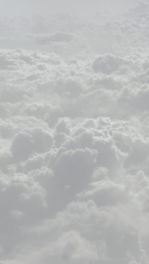 Cloud Flare White Sky Wanna Fly Nature iPhone 8 wallpaper