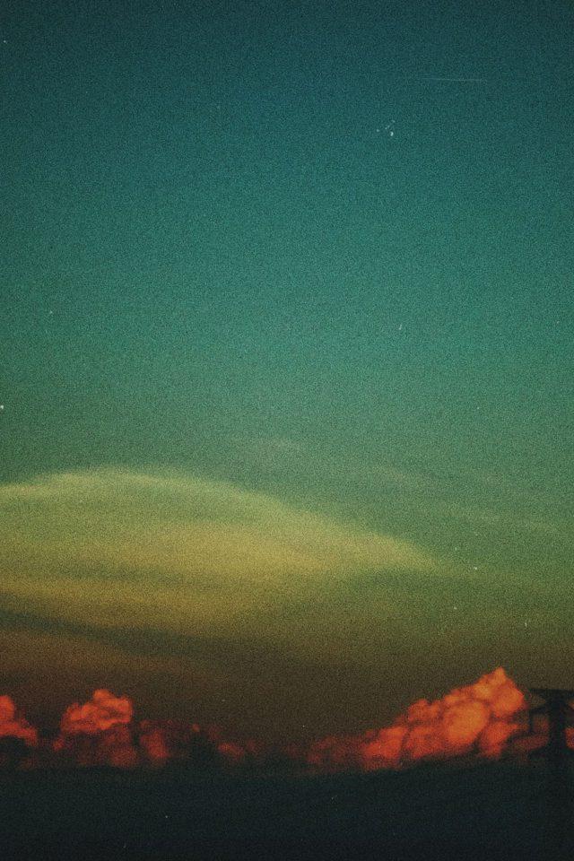Cloud Vintage Sky Nature Iphone 8 Wallpaper