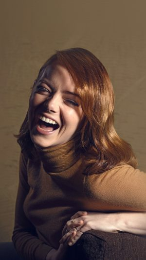 Emma Stone Smile Celebrity Actress Film iPhone 8 wallpaper
