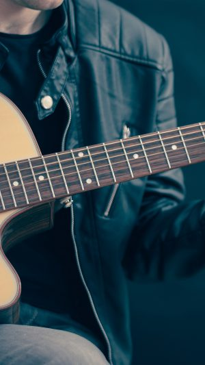 Guitar Classical Music Art Guy iPhone 8 wallpaper