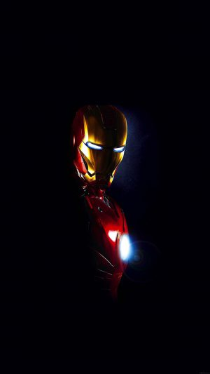 Ironman In Dark Film Art iPhone 8 wallpaper