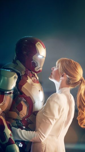 Ironman Love Hero Bokeh Film Celebrity Art iPhone 8 wallpaper