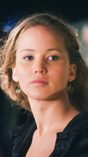 Jennifer Lawrence Natural Film Girl Face iPhone 8 wallpaper