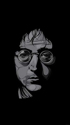 John Lennon Illust Art Music iPhone 8 wallpaper